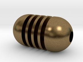 DRAW pendant - honey dipper in Natural Bronze