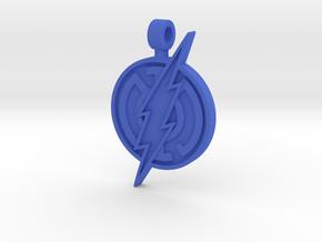 Blue Flash Pendant in Blue Processed Versatile Plastic