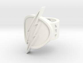 Flash Sz 6 in White Processed Versatile Plastic