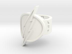 Flash Sz 7 in White Processed Versatile Plastic