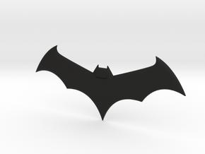 Mini Batarang in Black Natural Versatile Plastic