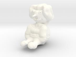 Pinochio in White Processed Versatile Plastic