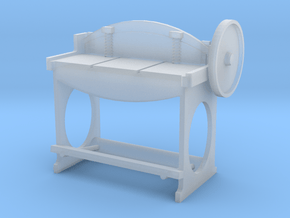 Metal Shear S Scale in Smooth Fine Detail Plastic