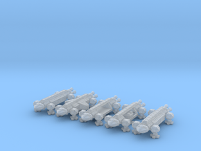 Spacer1999 Transports 1/1000 Scale in Smooth Fine Detail Plastic