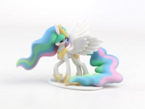 My Little Pony - Celestia (≈70mm tall) in Full Color Sandstone