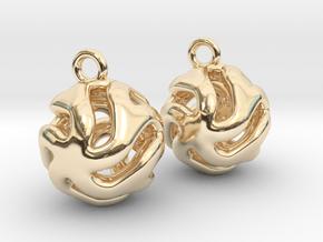 Starfish Kanga Earrings in 14K Yellow Gold