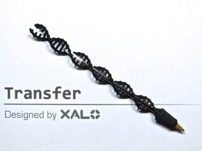 Transfer in Black Natural Versatile Plastic