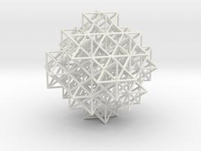 Escher's solids filling space in White Natural Versatile Plastic