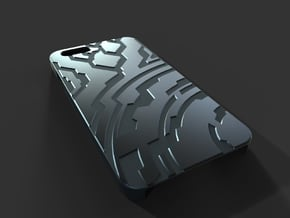 Iphone 6 Case (Halo/Tron Inspired) in Black Natural Versatile Plastic
