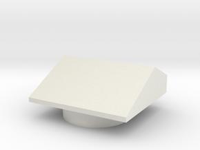 MP-20 Dash Peg Cover in White Natural Versatile Plastic