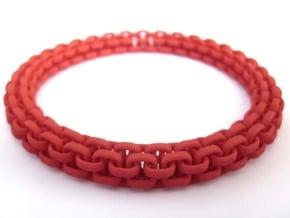 Scoobie Bracelet (New) in Red Processed Versatile Plastic