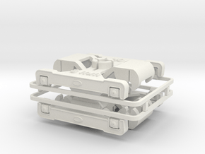 DG 4r in White Natural Versatile Plastic