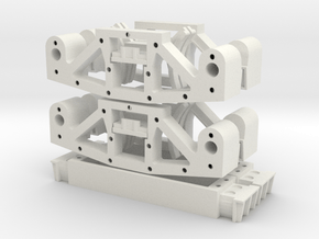 Aristo Truck 20 Spru in White Natural Versatile Plastic