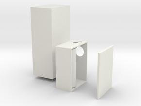 26650 Box in White Natural Versatile Plastic