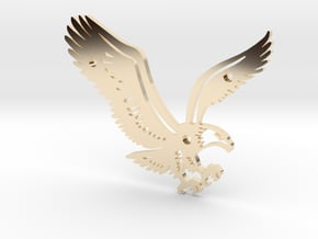 Eagle in 14K Yellow Gold