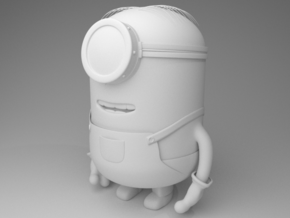 Minion Gru my favorite villain in White Processed Versatile Plastic