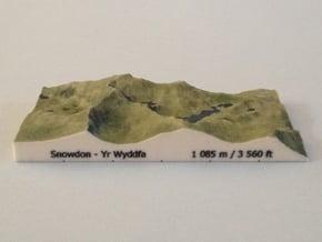 Snowdon - Photo in Full Color Sandstone