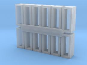 N Scale CNR Lineside Toolbox in Smooth Fine Detail Plastic