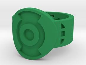 FF (First Flight) GL (Sz's 5-15) in Green Processed Versatile Plastic