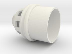 10-17-14 DLT-20A MUZZLE in White Natural Versatile Plastic