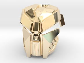 Kanohi Kraahkan [2nd Epic Edition] in 14K Yellow Gold