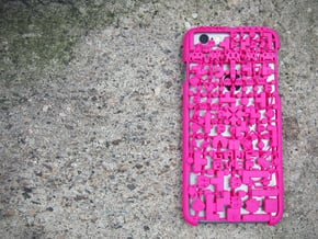 Game Over IPhone 6 Cover in Pink Processed Versatile Plastic