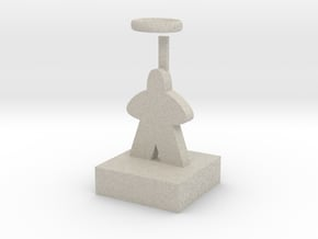 The Saint in Natural Sandstone
