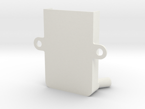 Devo Rx701 Receiver Mount Vertical V0.1 in White Natural Versatile Plastic