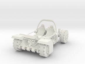 Spectacular Hango-densor in White Natural Versatile Plastic