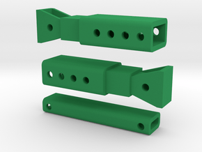 Trench Box Bars in Green Processed Versatile Plastic