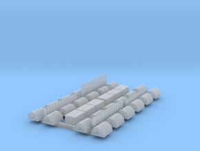 N Scale Lobster Trap, Round Top with End Eye- 24 in Smooth Fine Detail Plastic