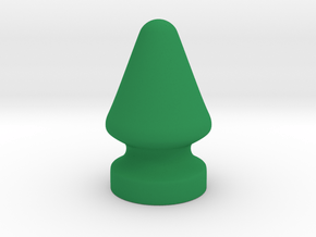 French Christmas Tree in Green Processed Versatile Plastic
