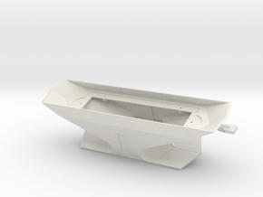 DE Plow Assy O Scale in White Natural Versatile Plastic