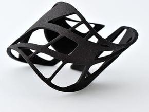 Bracelet Treble Trig in Black Natural Versatile Plastic