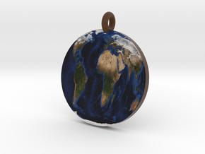 Flat Earth in Full Color Sandstone