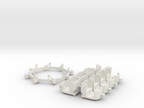 Umbausatz - conversion Swing Mill 1.87 (H0 scale) in White Natural Versatile Plastic