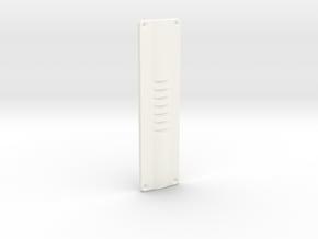 V1 - Access Panel in White Processed Versatile Plastic