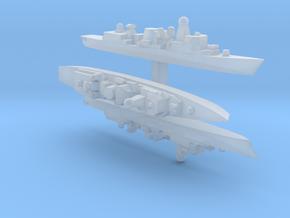 60SA04 1:6000 Greek Kortenaer x3 in Smooth Fine Detail Plastic