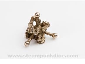 Jack d4 in Polished Bronzed Silver Steel
