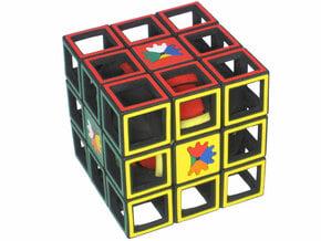 Cube Bouchon in White Natural Versatile Plastic
