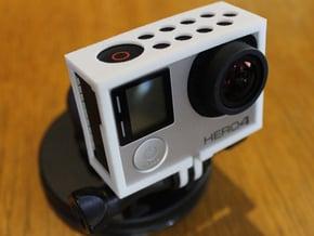 GoPro Hero3 & Hero4 - Frame'ish - d3wey in White Natural Versatile Plastic