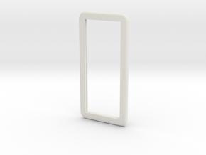 IPhone6 Plus Dummy 3mm in White Natural Versatile Plastic