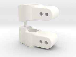GFRP - DO - HUB CARRIERS - RAISED .1875 in White Processed Versatile Plastic
