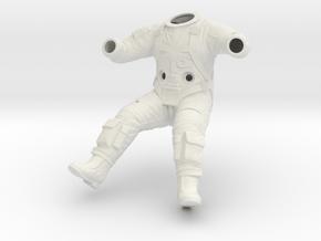 Gemini Astronaut EVA / 1:6 / Space Suit in White Natural Versatile Plastic