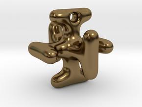 Multiverse Xcross in Polished Bronze