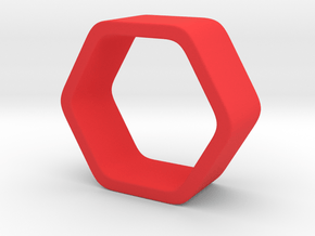 Poly6 Ring in Red Processed Versatile Plastic: 5 / 49