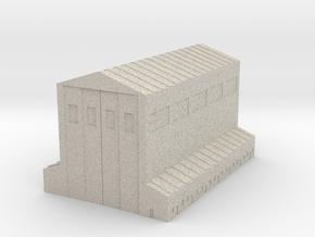 Large MechaBay in Natural Sandstone