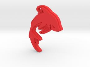 Shark in Red Processed Versatile Plastic