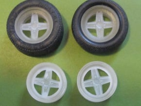 "Targa 13""pack v2 in Smooth Fine Detail Plastic"