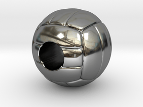 VolleyBall 4U in Fine Detail Polished Silver